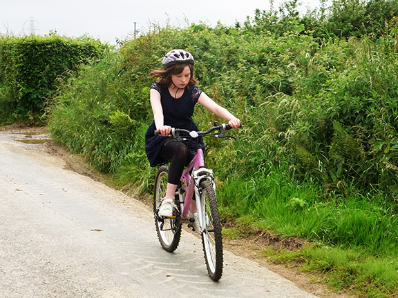 Forda Farm Bed and Breakfast near Holsworthy and Bude where you can enjoy cycling the local routes.